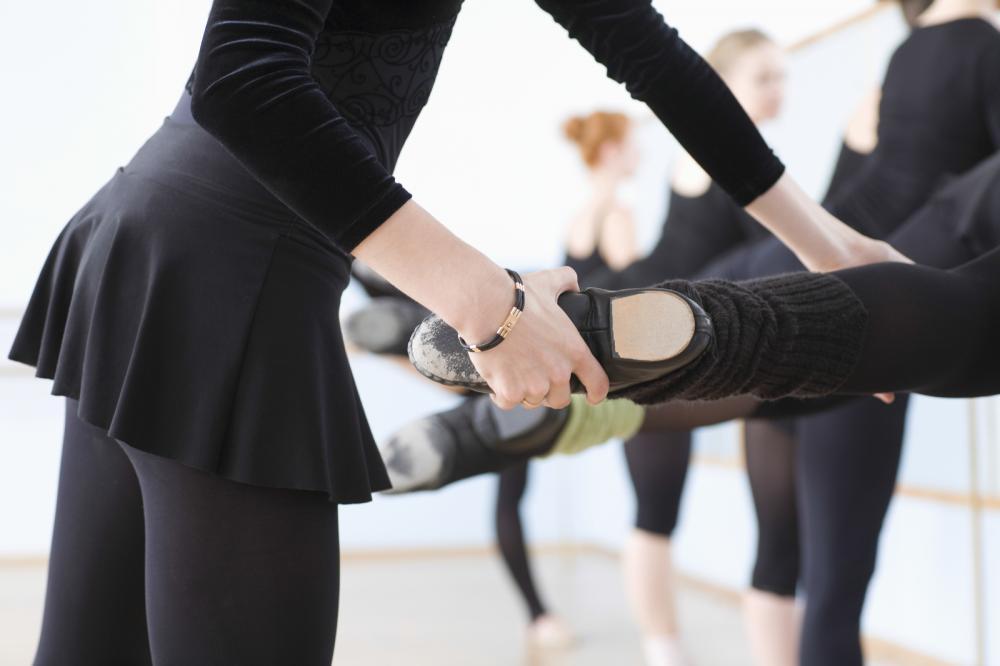 dancers under instruction